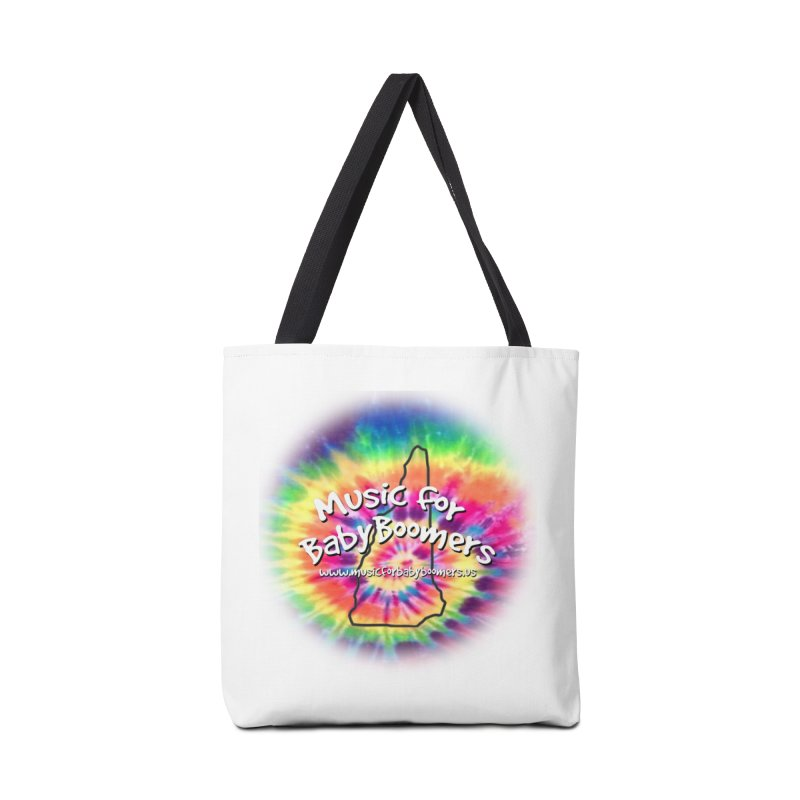 MusicForBabyBoomers-New Hampshire Accessories Tote Bag Bag by PapaGreyBeard's Merchandise
