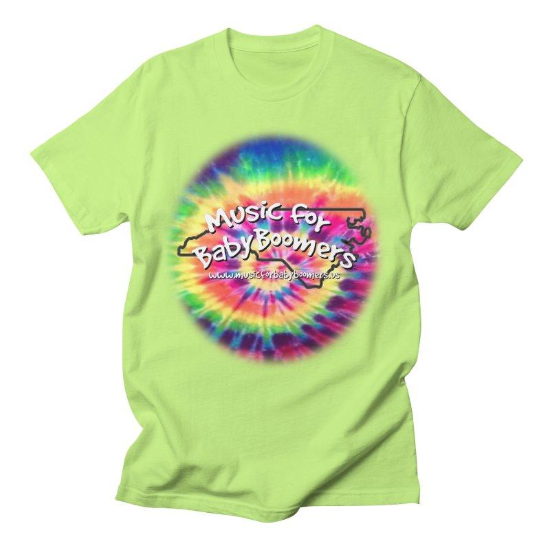 MusicForBabyBoomers-North Carolina Men's T-Shirt by PapaGreyBeard's Merchandise