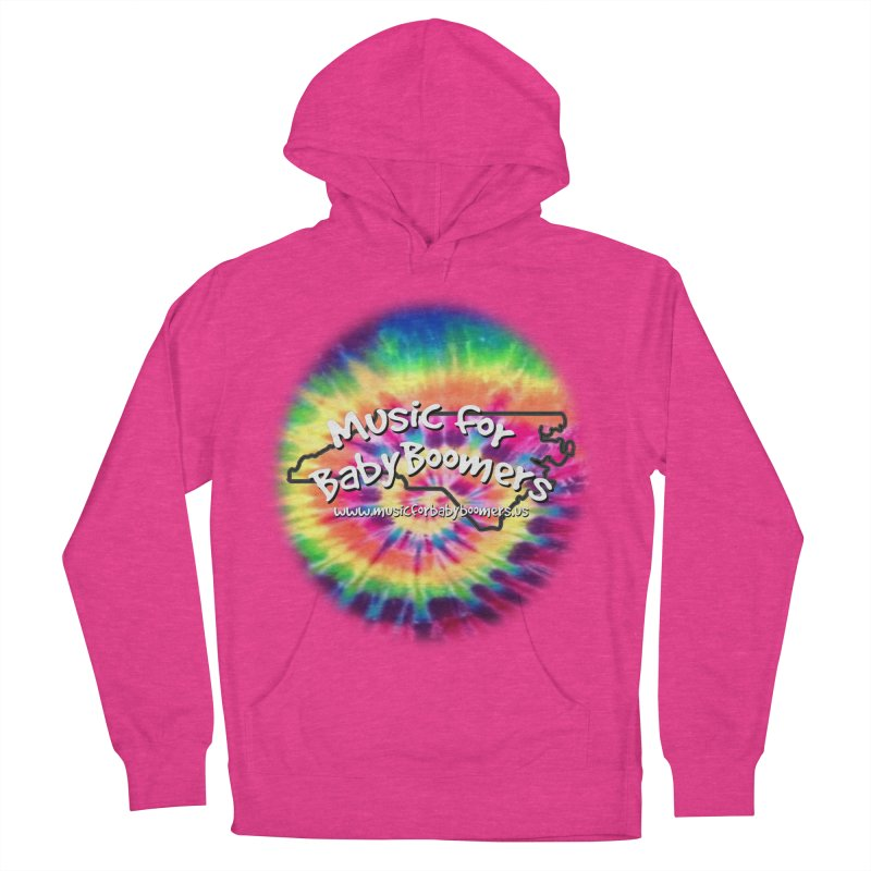 MusicForBabyBoomers-North Carolina Women's French Terry Pullover Hoody by PapaGreyBeard's Merchandise