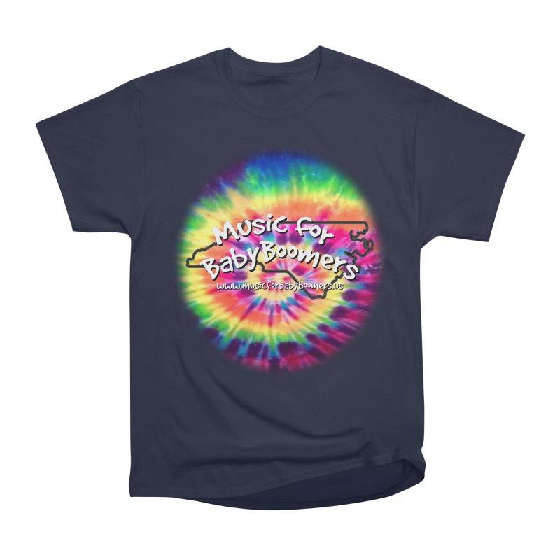 MusicForBabyBoomers-North Carolina Men's Heavyweight T-Shirt by PapaGreyBeard's Merchandise