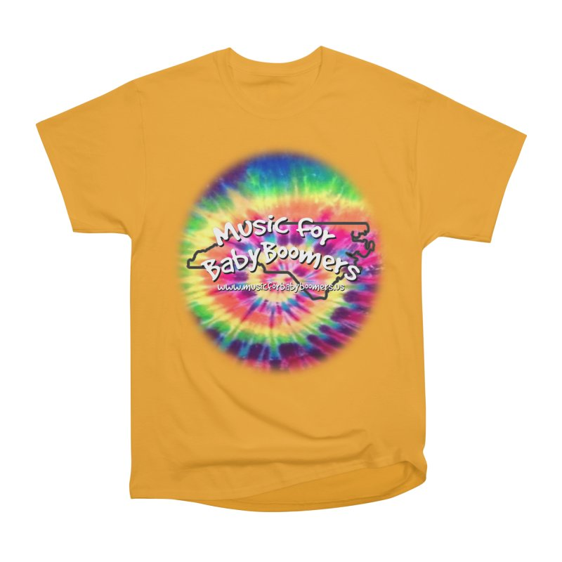 MusicForBabyBoomers-North Carolina Women's Heavyweight Unisex T-Shirt by PapaGreyBeard's Merchandise