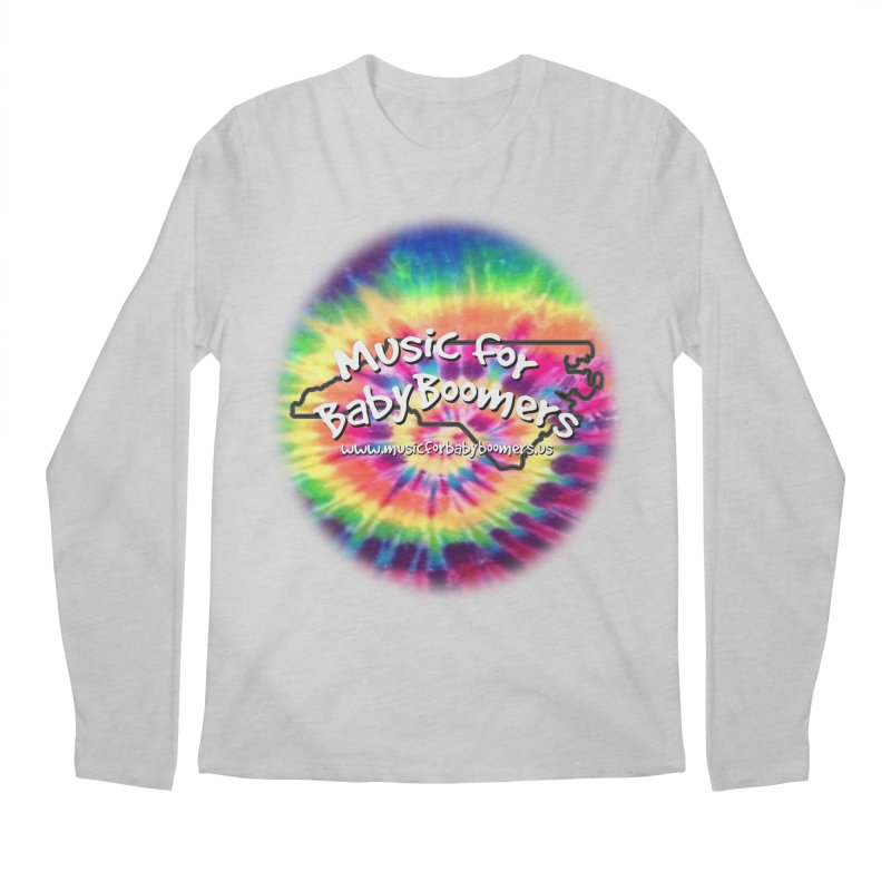 MusicForBabyBoomers-North Carolina Men's Regular Longsleeve T-Shirt by PapaGreyBeard's Merchandise