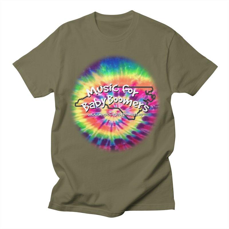 MusicForBabyBoomers-North Carolina Men's Regular T-Shirt by PapaGreyBeard's Merchandise