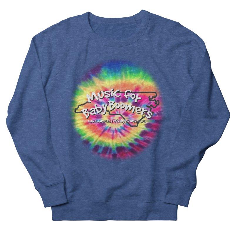 MusicForBabyBoomers-North Carolina Men's French Terry Sweatshirt by PapaGreyBeard's Merchandise
