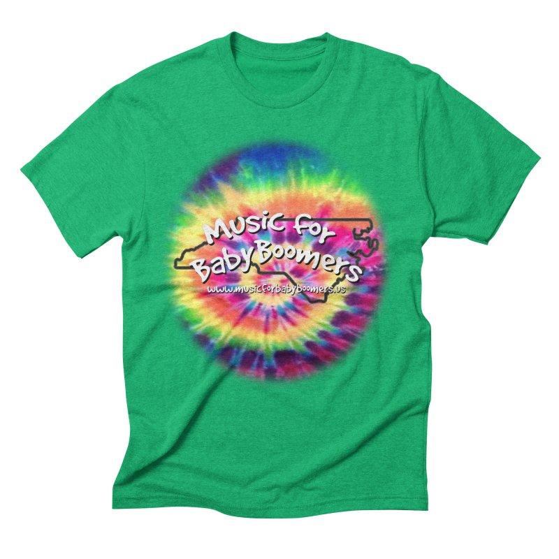 MusicForBabyBoomers-North Carolina Men's Triblend T-Shirt by PapaGreyBeard's Merchandise