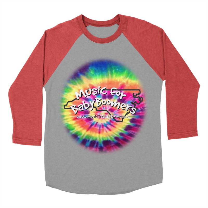MusicForBabyBoomers-North Carolina Men's Baseball Triblend T-Shirt by PapaGreyBeard's Merchandise