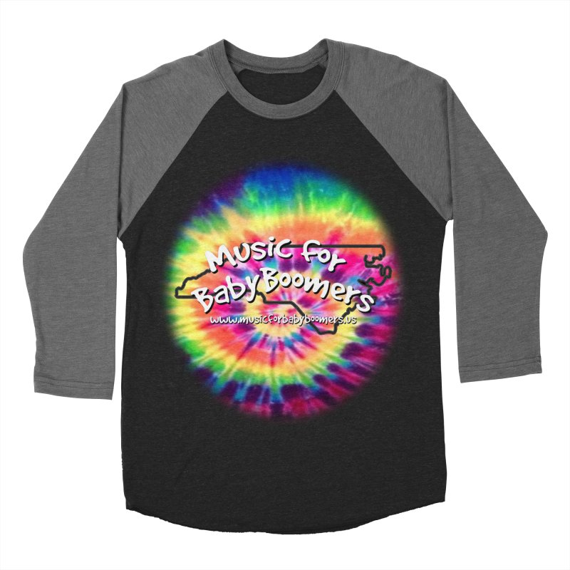 MusicForBabyBoomers-North Carolina Men's Baseball Triblend Longsleeve T-Shirt by PapaGreyBeard's Merchandise