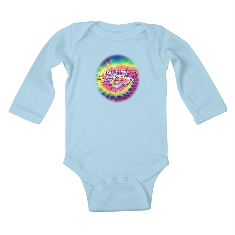 MusicForBabyBoomers-North Carolina Kids Baby Longsleeve Bodysuit by PapaGreyBeard's Merchandise