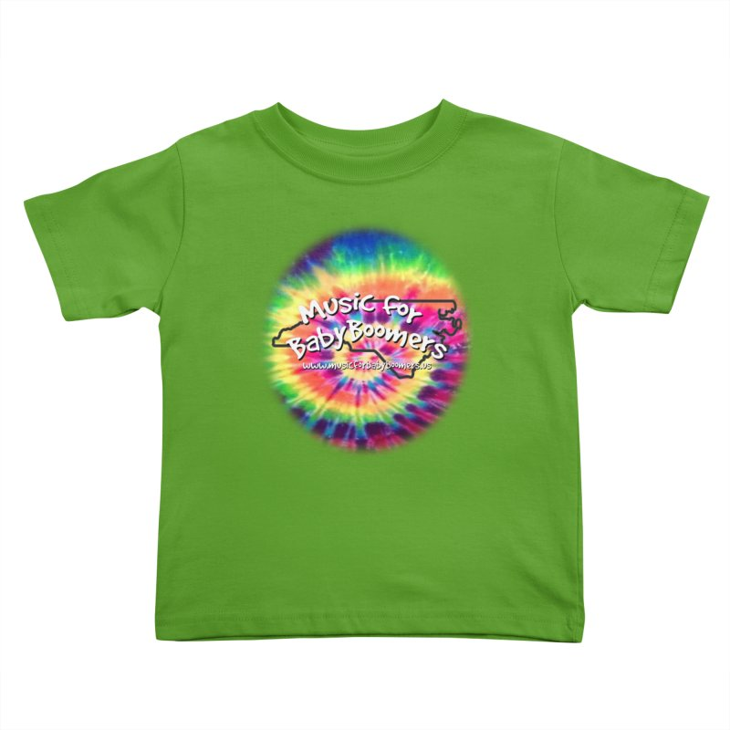 MusicForBabyBoomers-North Carolina Kids Toddler T-Shirt by PapaGreyBeard's Merchandise