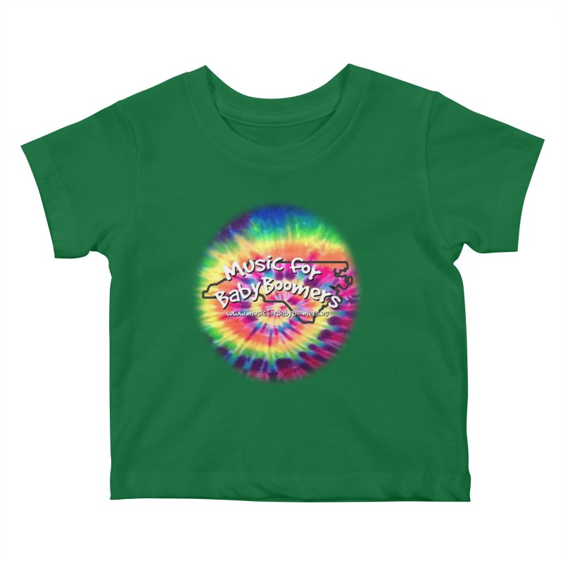 MusicForBabyBoomers-North Carolina Kids Baby T-Shirt by PapaGreyBeard's Merchandise
