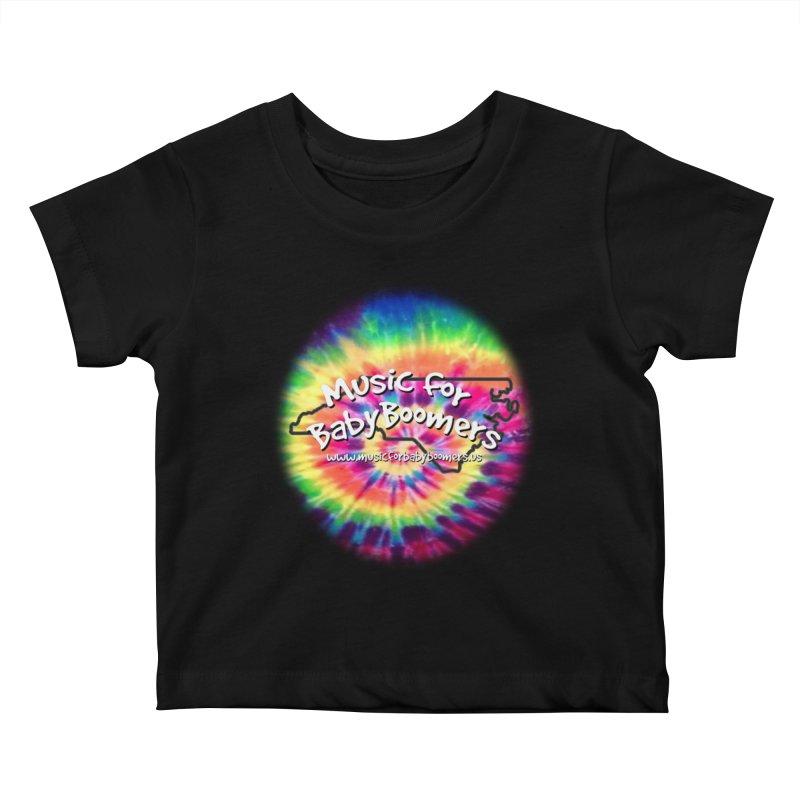 MusicForBabyBoomers-North Carolina Kids Baby T-Shirt by PapaGreyBeard's Merchandise