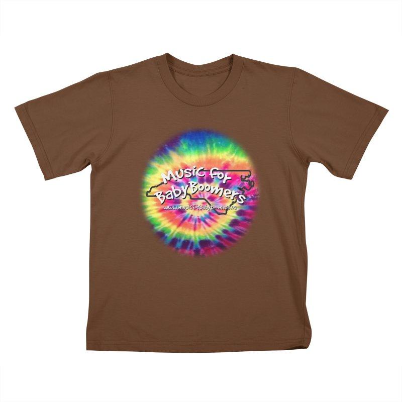 MusicForBabyBoomers-North Carolina Kids T-Shirt by PapaGreyBeard's Merchandise