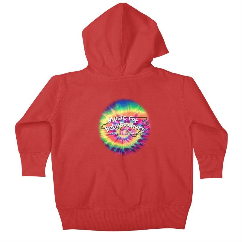 MusicForBabyBoomers-North Carolina Kids Baby Zip-Up Hoody by PapaGreyBeard's Merchandise