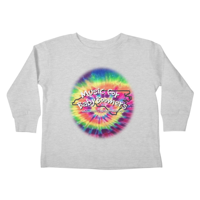 MusicForBabyBoomers-North Carolina Kids Toddler Longsleeve T-Shirt by PapaGreyBeard's Merchandise