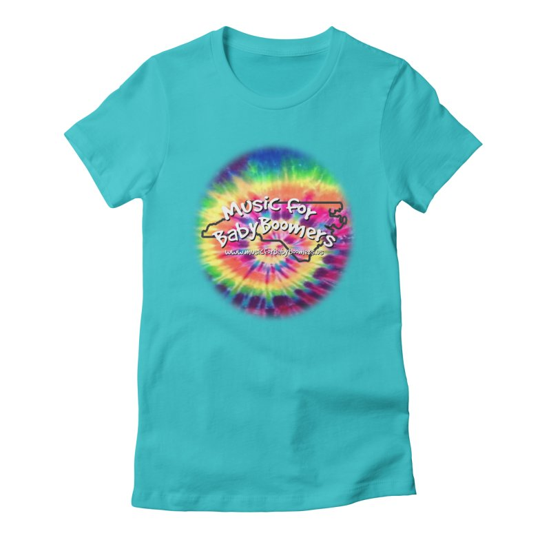 MusicForBabyBoomers-North Carolina Women's Fitted T-Shirt by PapaGreyBeard's Merchandise