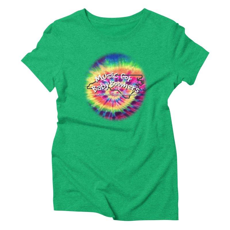 MusicForBabyBoomers-North Carolina Women's Triblend T-Shirt by PapaGreyBeard's Merchandise