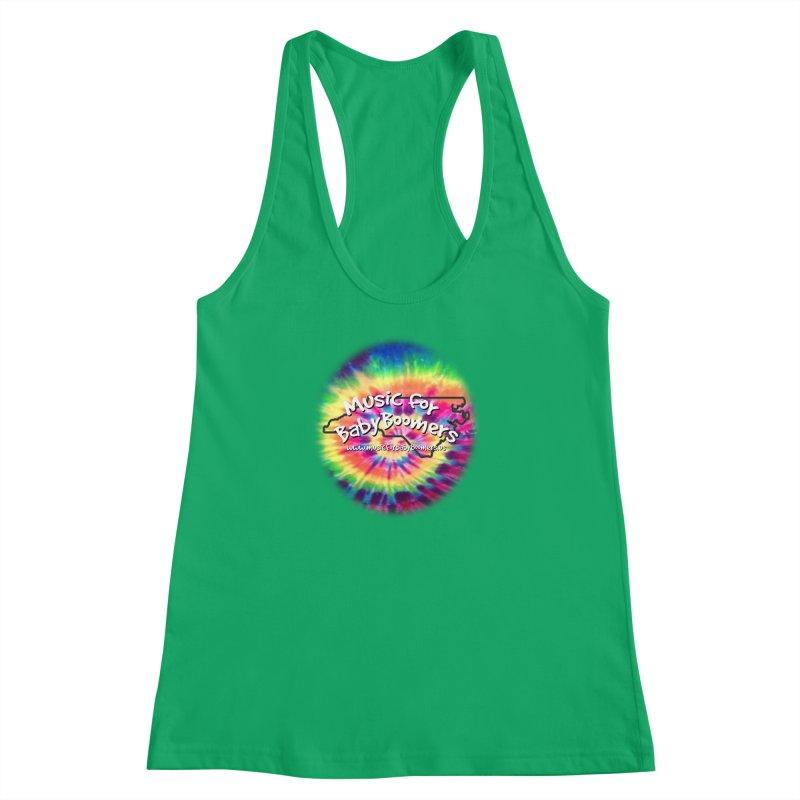 MusicForBabyBoomers-North Carolina Women's Racerback Tank by PapaGreyBeard's Merchandise