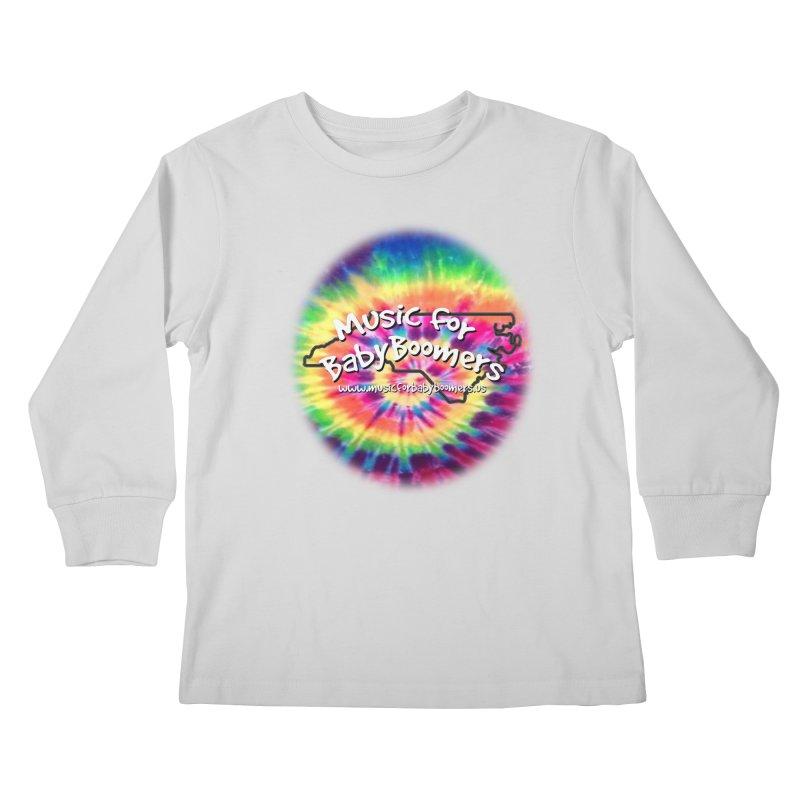 MusicForBabyBoomers-North Carolina Kids Longsleeve T-Shirt by PapaGreyBeard's Merchandise