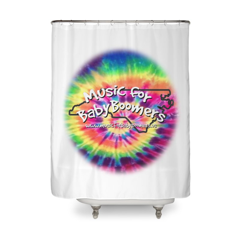 MusicForBabyBoomers-North Carolina Home Shower Curtain by PapaGreyBeard's Merchandise