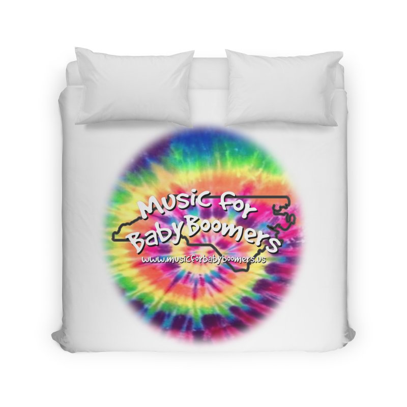 MusicForBabyBoomers-North Carolina Home Duvet by PapaGreyBeard's Merchandise