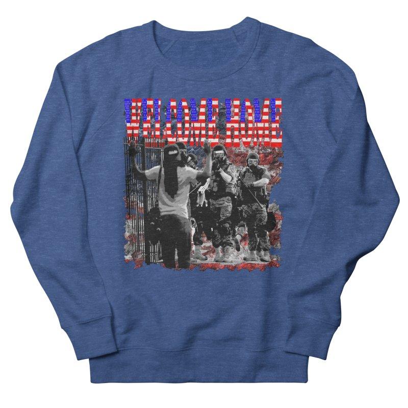 Welcome Home USA Women's Sweatshirt by Paparaw's T-Shirt Design