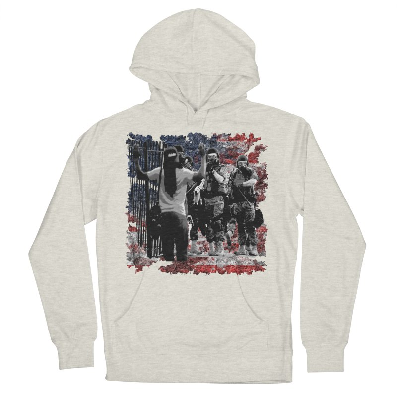 BROKEN NATION? Women's Pullover Hoody by Paparaw's T-Shirt Design