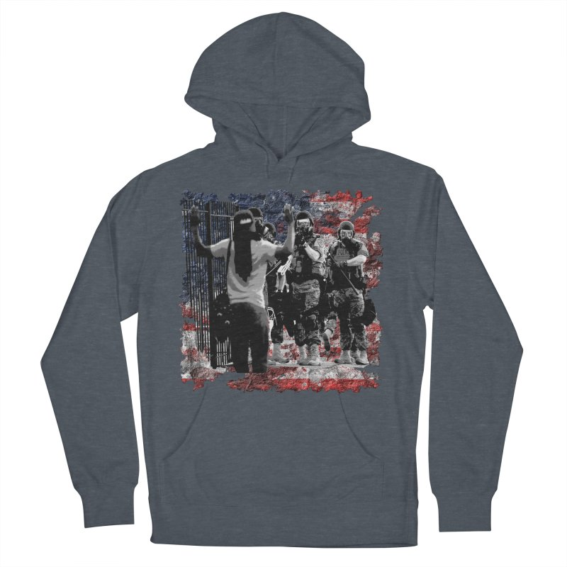 BROKEN NATION? Men's Pullover Hoody by Paparaw's T-Shirt Design