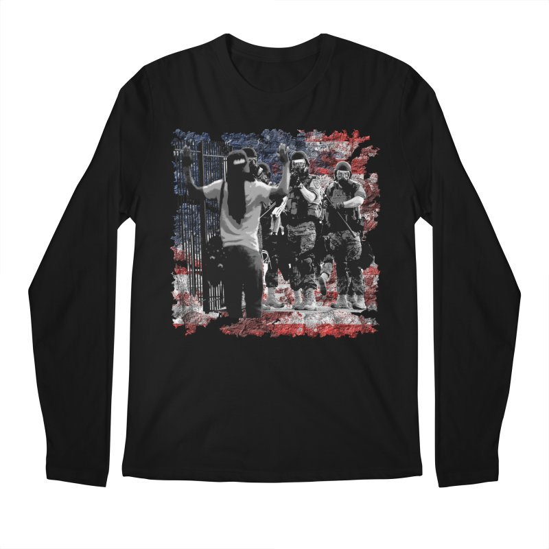 BROKEN NATION? Men's Longsleeve T-Shirt by Paparaw's T-Shirt Design