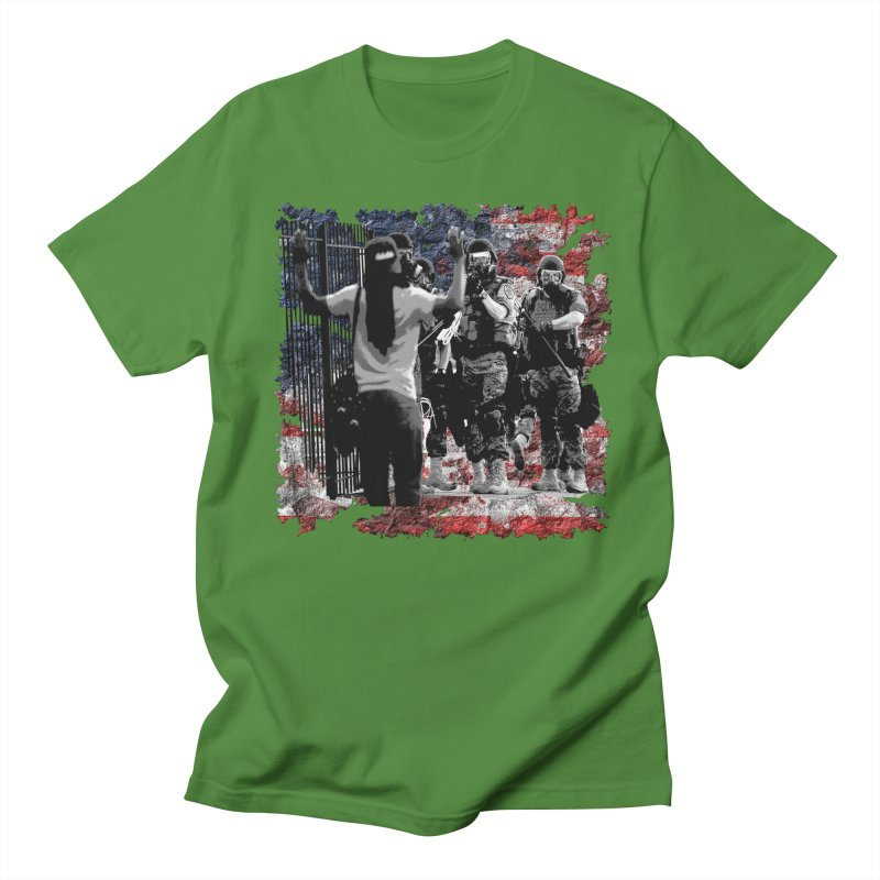 BROKEN NATION? Women's Unisex T-Shirt by Paparaw's T-Shirt Design