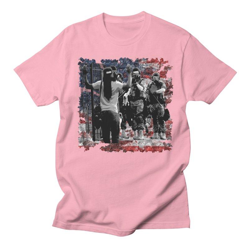 BROKEN NATION? Men's T-Shirt by Paparaw's T-Shirt Design