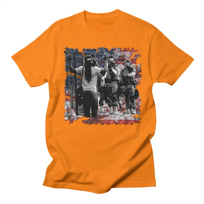 BROKEN NATION? Women's Unisex T-Shirt by Paparaw's T-Shirt Design