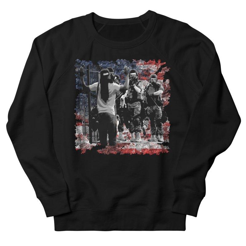 BROKEN NATION? Women's Sweatshirt by Paparaw's T-Shirt Design