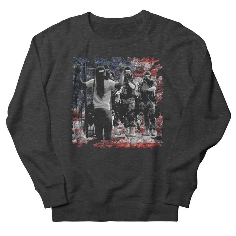 BROKEN NATION? Men's Sweatshirt by Paparaw's T-Shirt Design