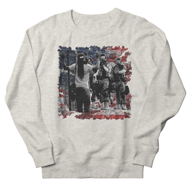 BROKEN NATION? Men's Sweatshirt by Paparaw's T-Shirt Design