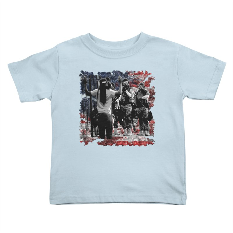 BROKEN NATION? Kids Toddler T-Shirt by Paparaw's T-Shirt Design