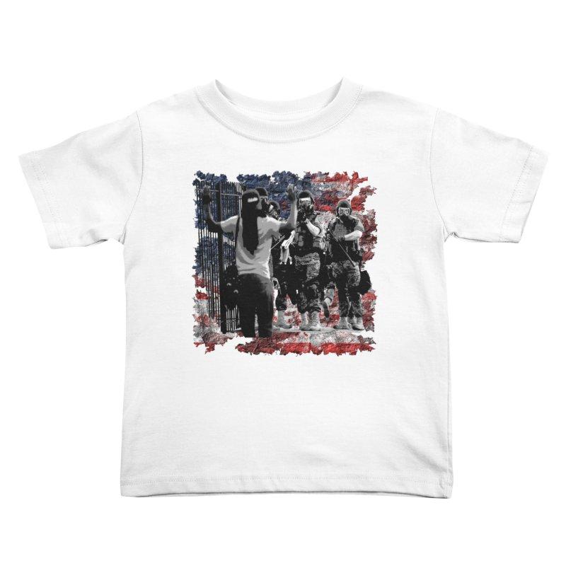 BROKEN NATION? Kids Toddler T-Shirt by Paparaw's T-Shirt Design
