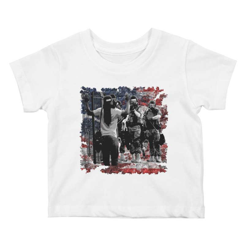 BROKEN NATION? Kids Baby T-Shirt by Paparaw's T-Shirt Design