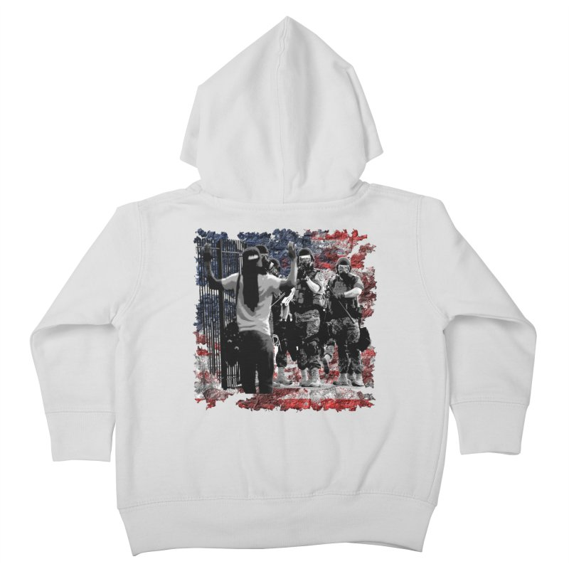 BROKEN NATION? Kids Toddler Zip-Up Hoody by Paparaw's T-Shirt Design