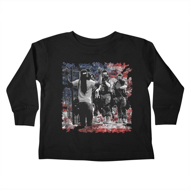 BROKEN NATION? Kids Toddler Longsleeve T-Shirt by Paparaw's T-Shirt Design