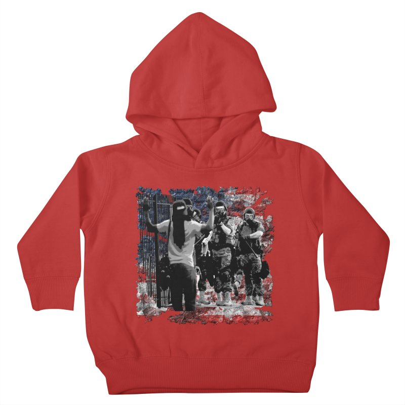 BROKEN NATION? Kids Toddler Pullover Hoody by Paparaw's T-Shirt Design