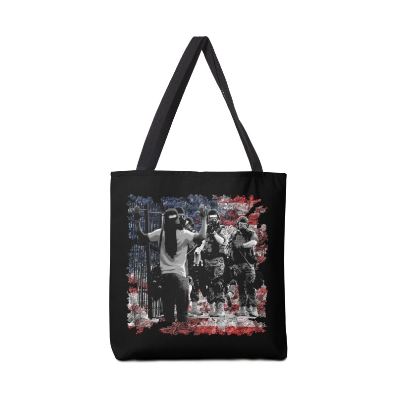 BROKEN NATION? Accessories Bag by Paparaw's T-Shirt Design