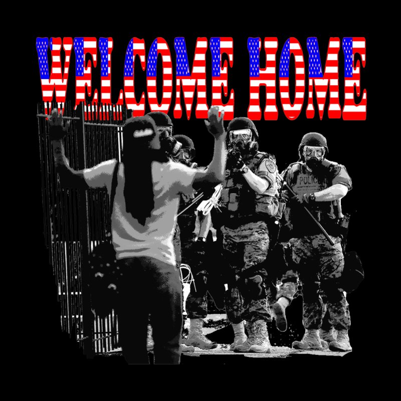 Welcome Home USA 2 by Paparaw's T-Shirt Design