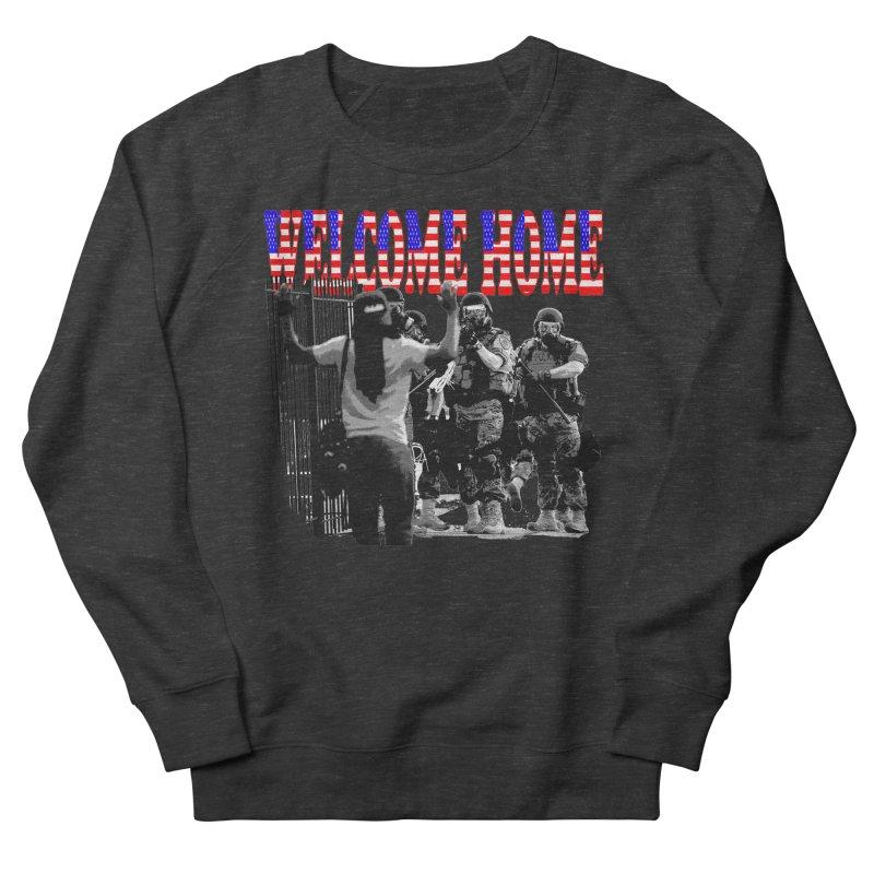 Welcome Home USA 2 Women's Sweatshirt by Paparaw's T-Shirt Design
