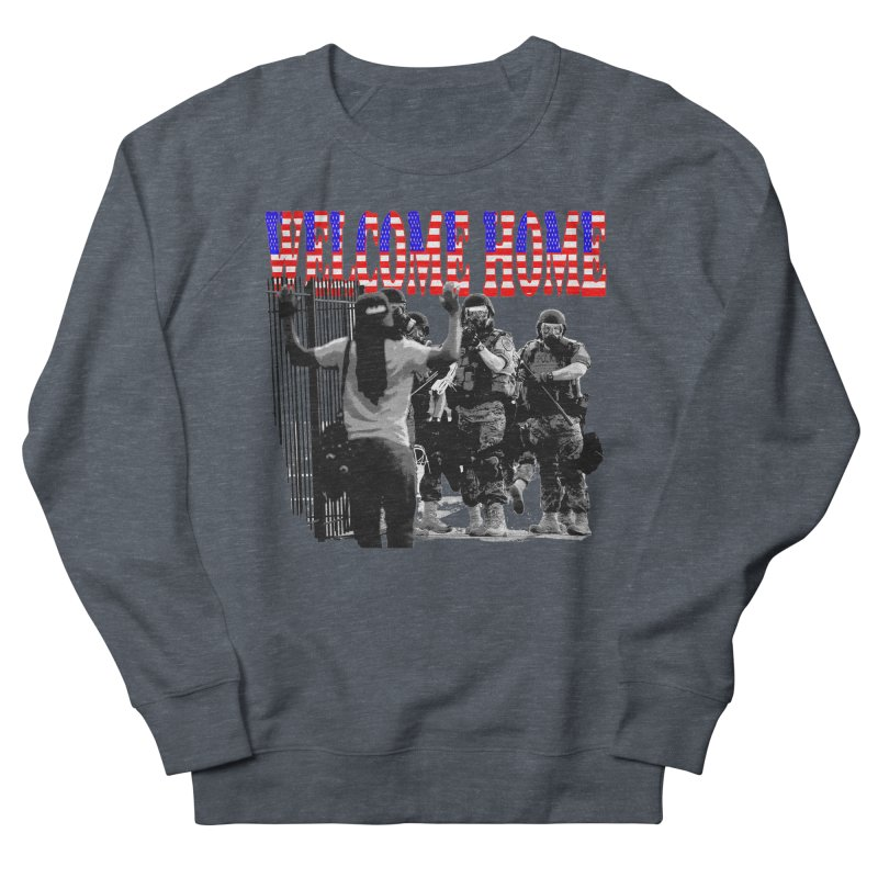 Welcome Home USA 2 Women's Sweatshirt by Paparaw's T-Shirt Design