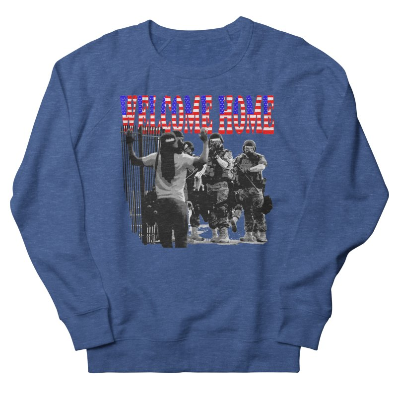 Welcome Home USA 2 Men's Sweatshirt by Paparaw's T-Shirt Design