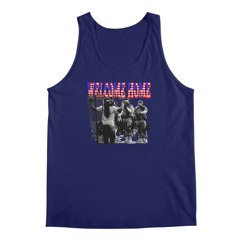 Welcome Home USA 2 Men's Tank by Paparaw's T-Shirt Design