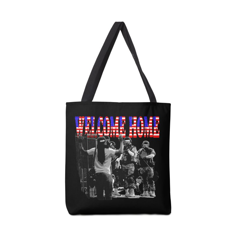 Welcome Home USA 2 Accessories Bag by Paparaw's T-Shirt Design
