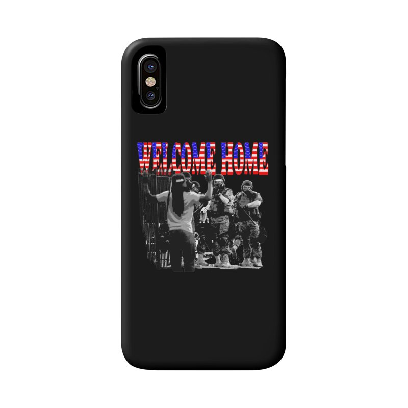 Welcome Home USA 2 Accessories Phone Case by Paparaw's T-Shirt Design