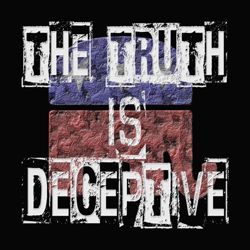 The Truth is Deceptive Men's T-Shirt by Paparaw's T-Shirt Design