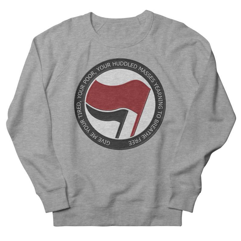 In The Name Of Liberty Women's Sweatshirt by Paparaw's T-Shirt Design